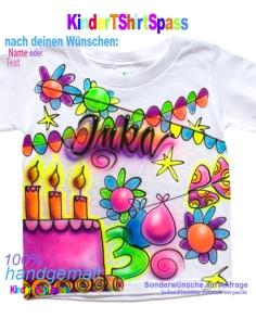 Kinder T-Shirt mit Namen - Dein Name und der Roboter 5