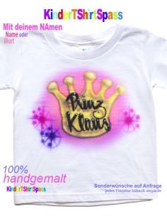 Kinder T-Shirt -Dein Name und der Party-Hase
