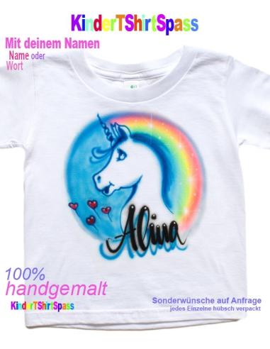 Einhorn Geschenk Mädchen Einhorn T Shirt