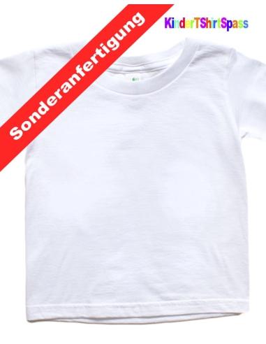 Kinder T-Shirt - Dein Name und der Roboter 1 - Mitgebsel Kindergeburtstag