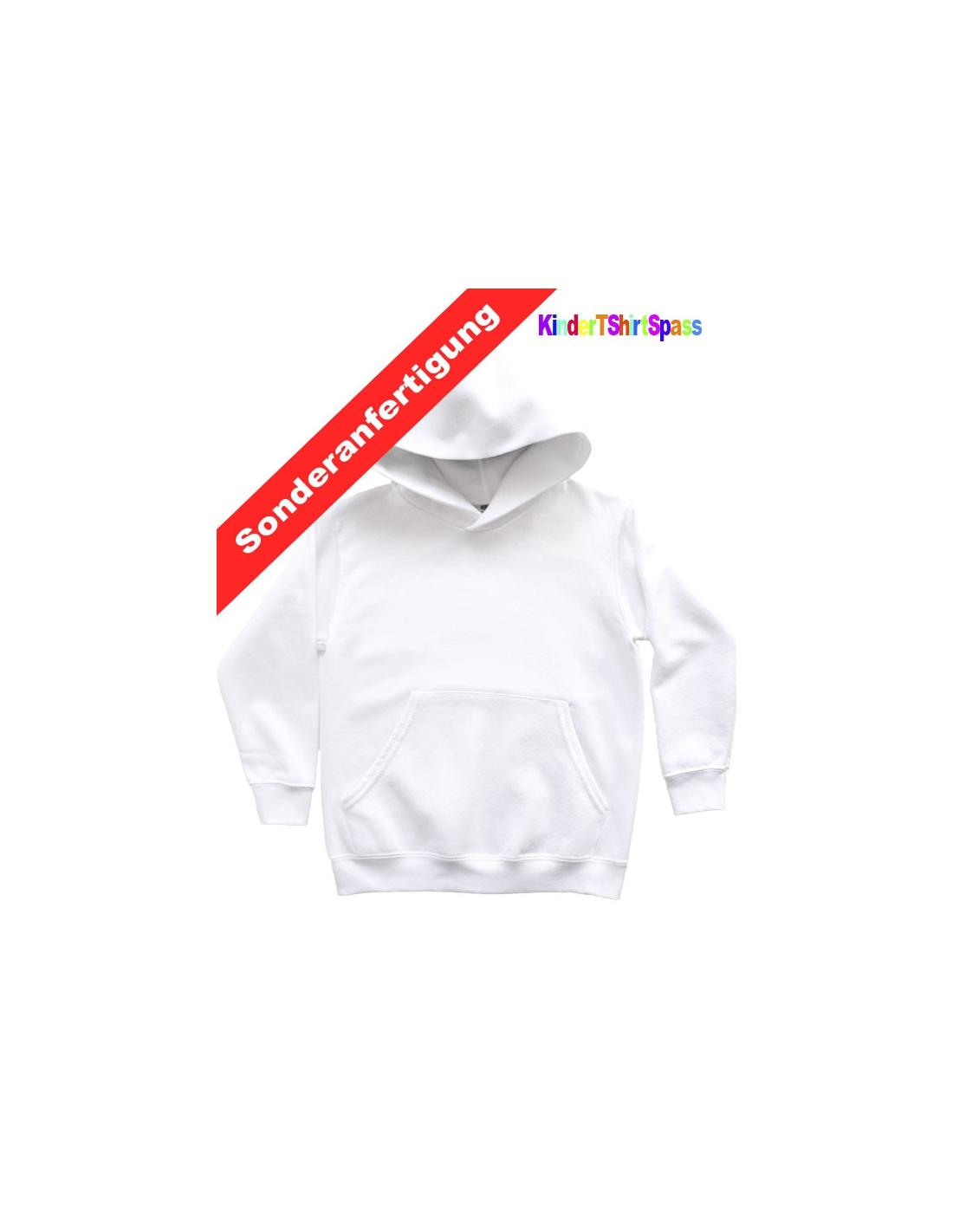 Halloween T-Shirt für Kinder mit Namen und Kürbis Gespenst