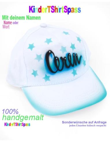 Kappe für Kinder mit Sternen