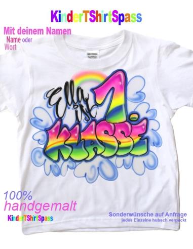 Geschenke zur Einschulung Mädchen T Shirt
